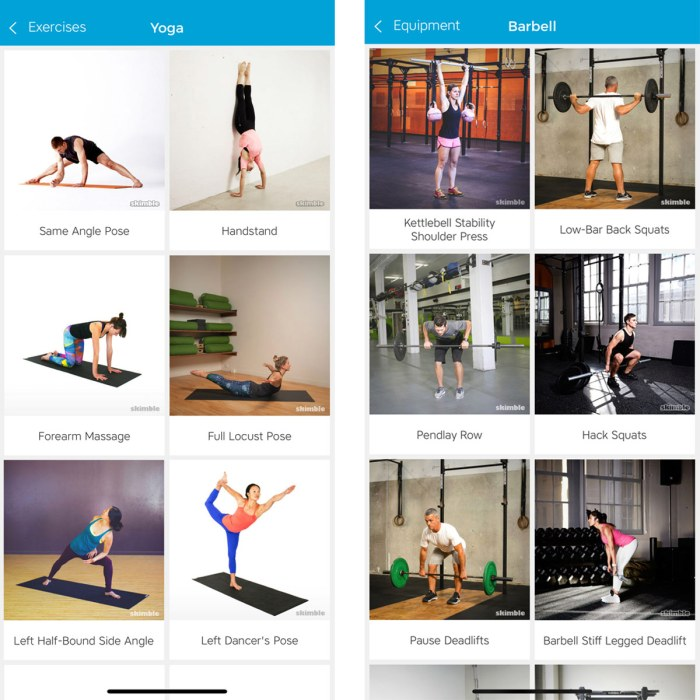 Workout Trainer by Skimble: New Exercise Library Content