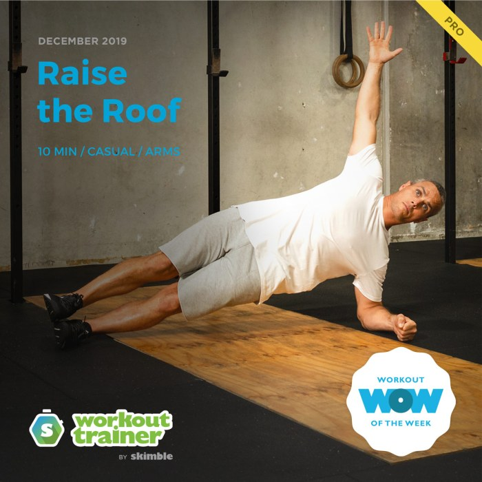 Workout Trainer by Skimble: Pro Workout of the Week: Raise the Roof