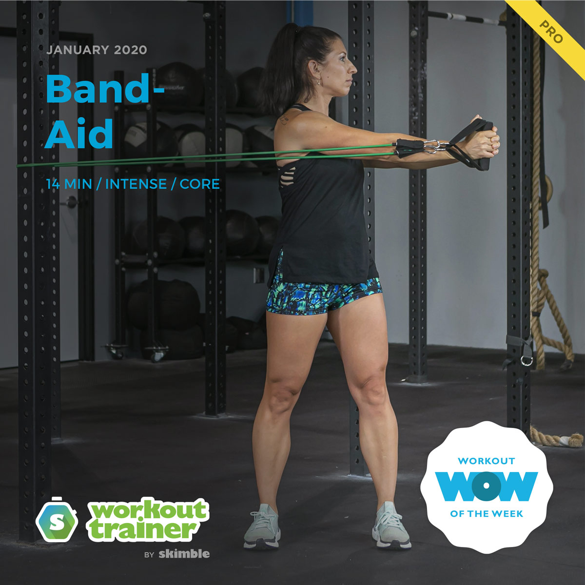 Workout Trainer by Skimble: Pro Workout of the Week: Band-Aid