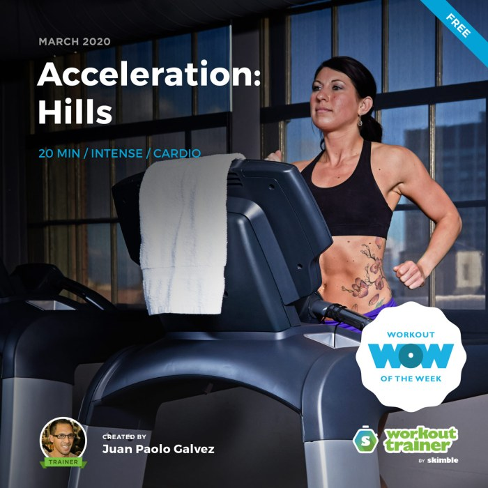 Workout Trainer by Skimble: Free Workout of the Week: Acceleration - Hills by Juan Paolo Galvez