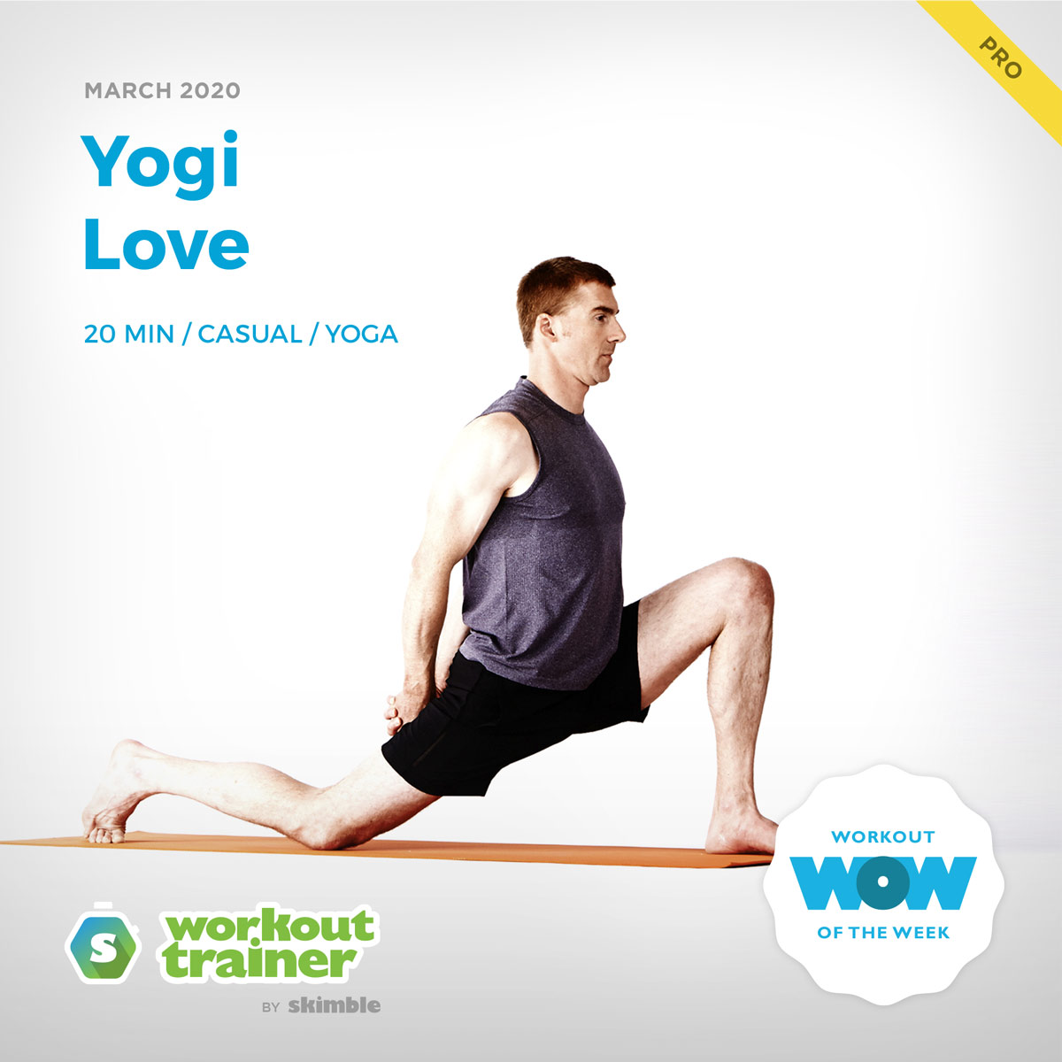 Workout Trainer by Skimble: Pro Workout of the Week: Yogi Love