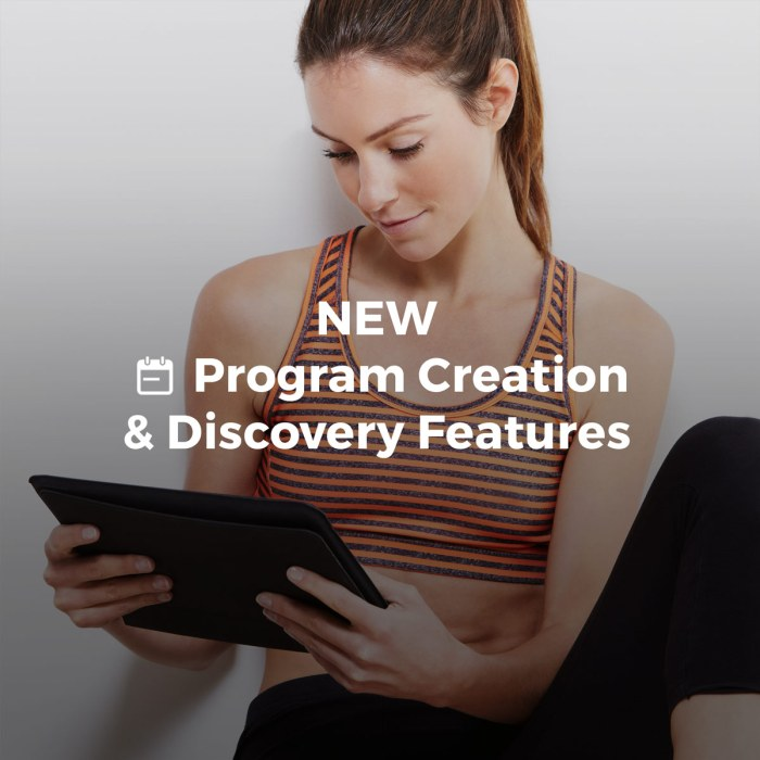Workout Trainer by Skimble: Advanced Program Creation and Discovery Features