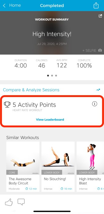 Workout Trainer by Skimble: Compete on the Leaderboard