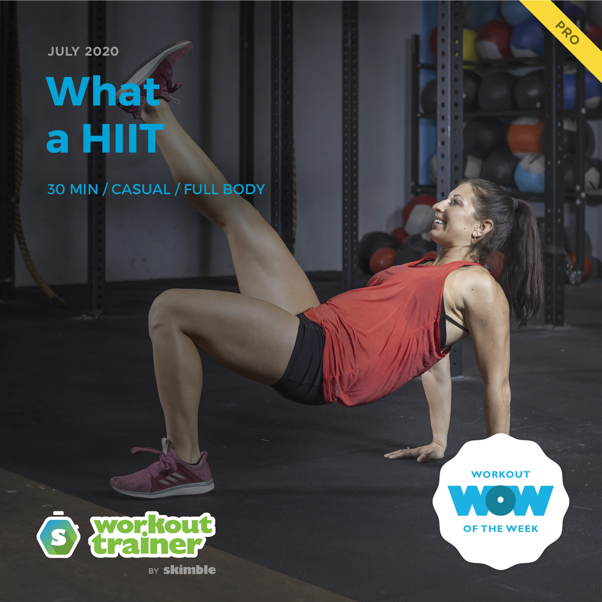 Workout Trainer by Skimble: Pro Workout of the Week: What a HIIT