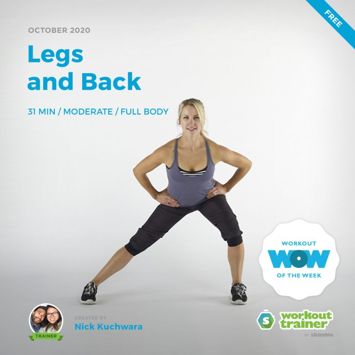 Female Trainer performing Side Lunges in active wear