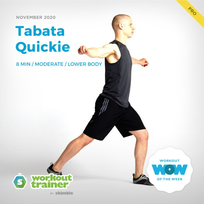 Male Personal Trainer doing Rotating Lunges