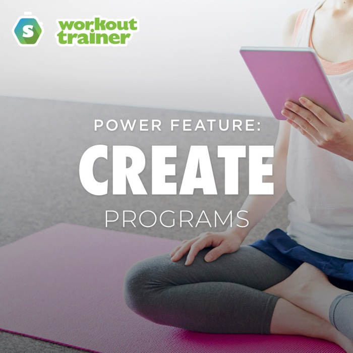 Workout Trainer app - Program Creation on Mobile and Web