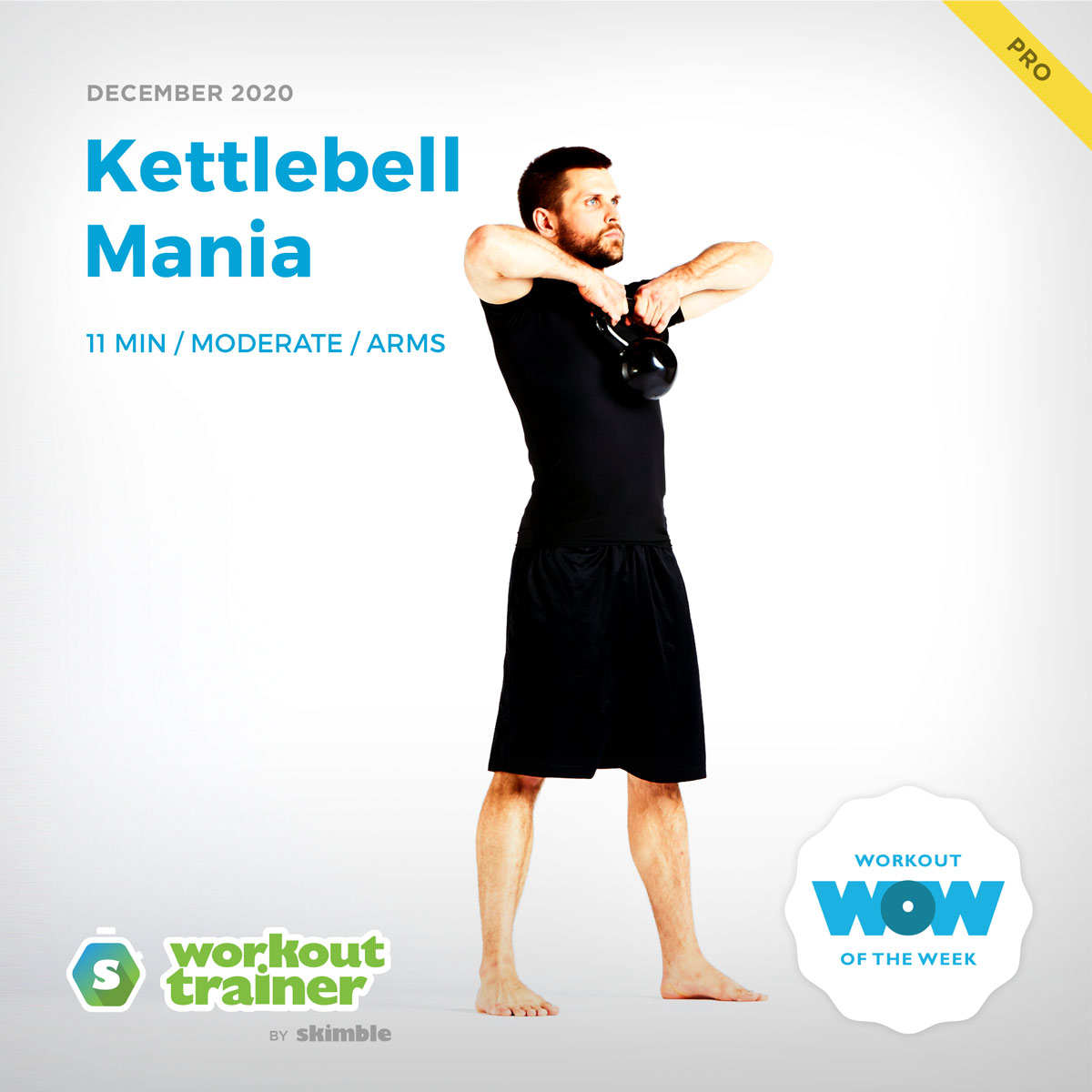 Male Personal Trainer performing Kettlebell Upright Rows