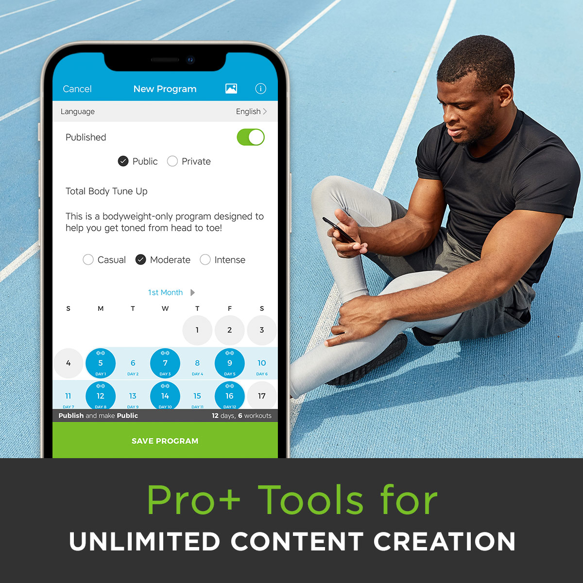 Workout Trainer Pro+ Tools for Unlimited Content Creation