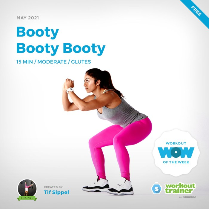 Female Fitness Instructor demonstrating how to do Wide Squat Holds