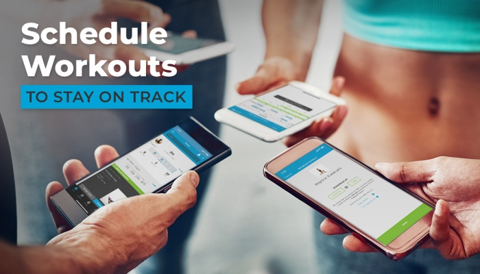 Schedule workouts in Workout Trainer for Android and iOS